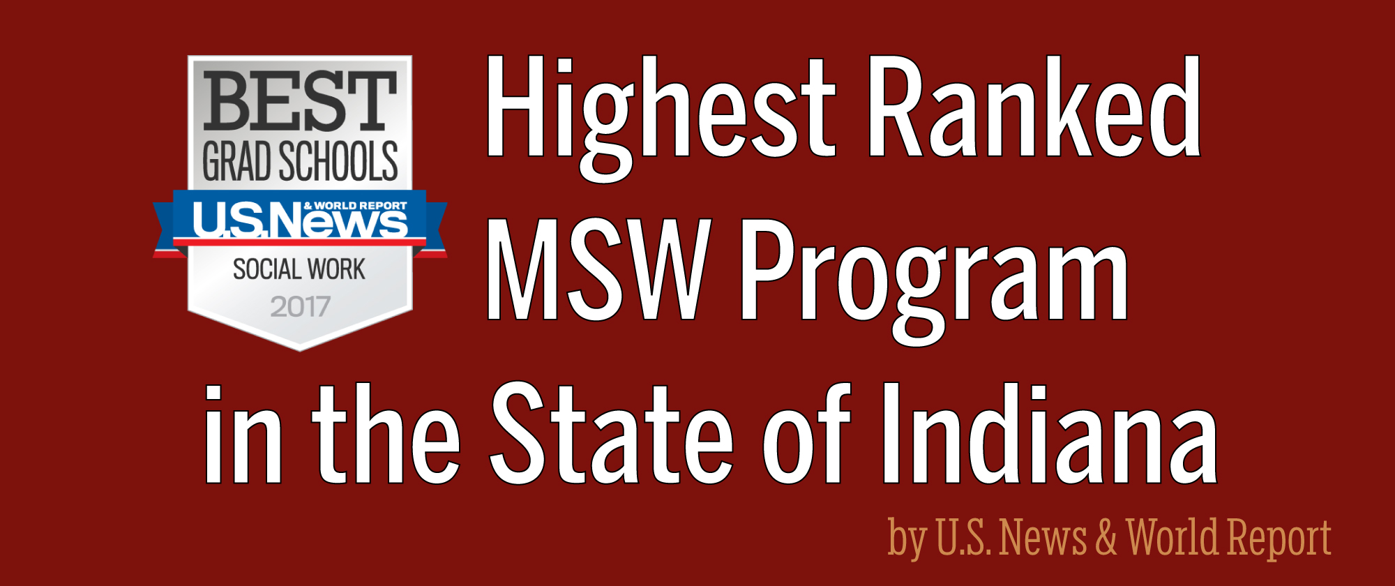 Oldest university-affiliated school of social work in the nation